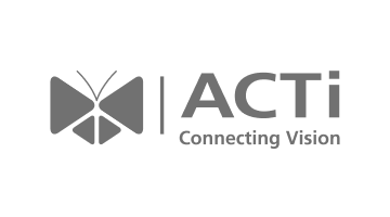 Acti Logo in Grey