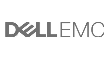 Dell EMC Logo in Grey