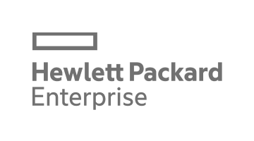 Hewlett Packard Logo in Grey